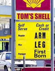 Petrol Price Shock