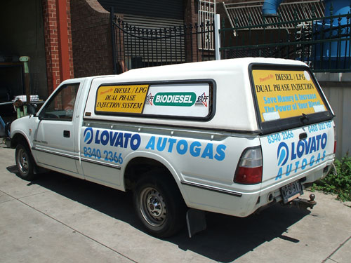 Local Delivery Ute